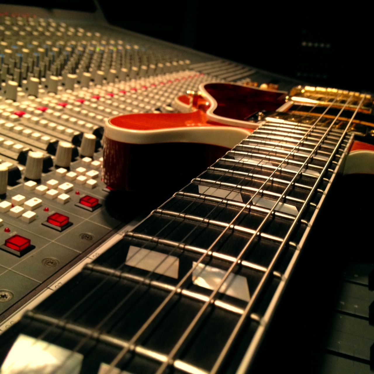 My Gibson ES-346 in the studio