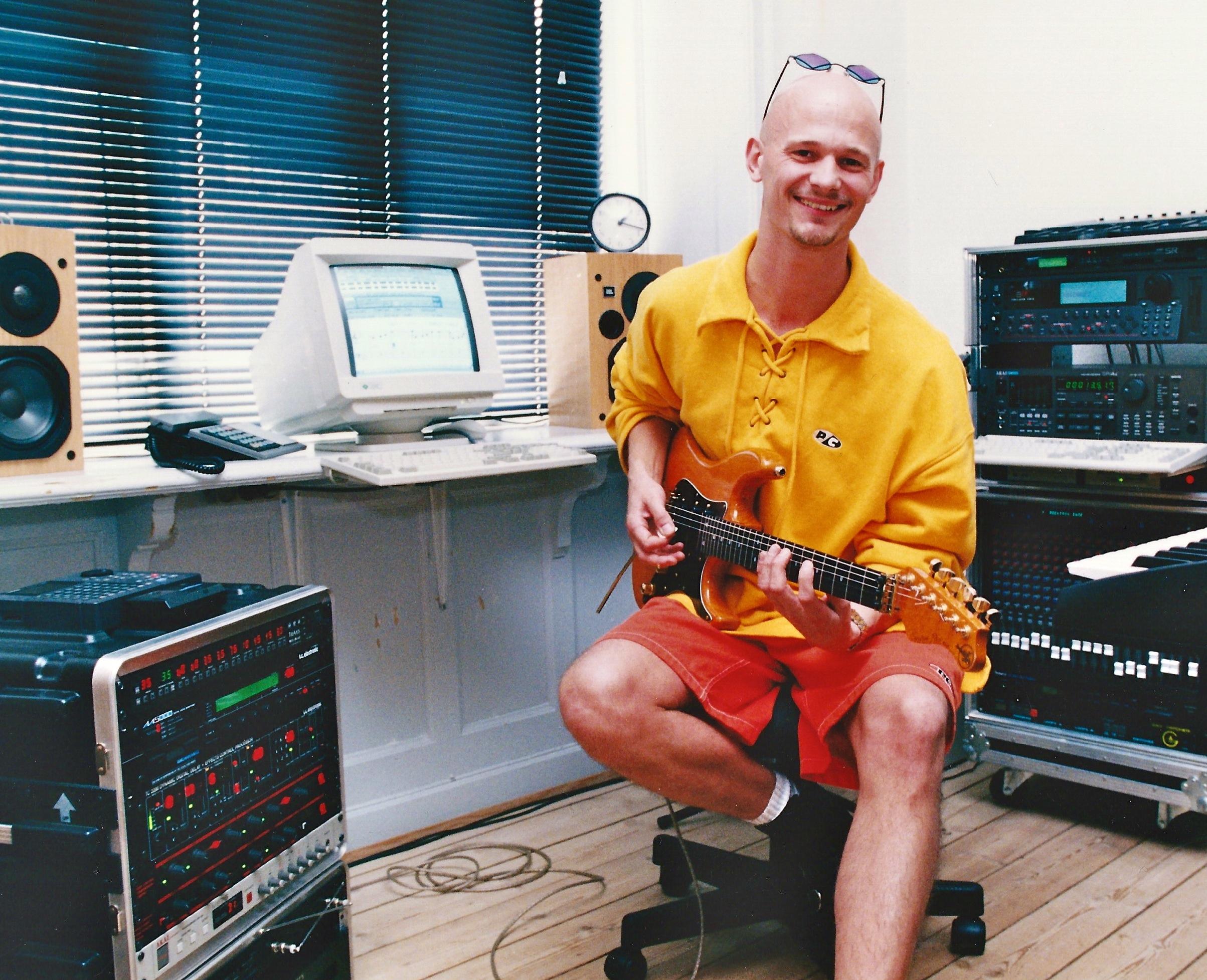 Soren Reiff rack - in studio in the mid nineties