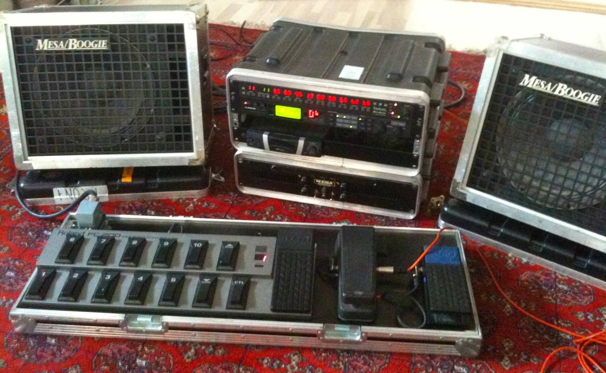 Soren Reiff's reduced stereo rack