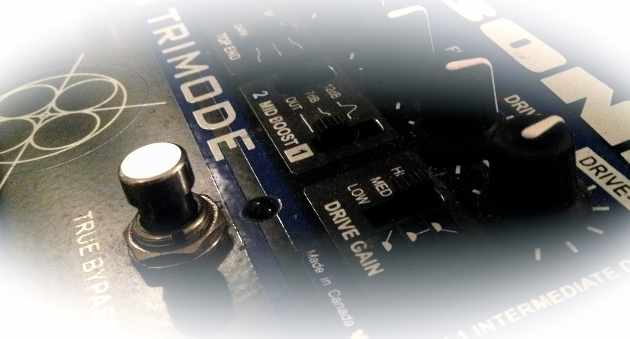 Radial Tonebone Trimode Tube Distortion Classic Tone Control Circuit With Low Noise Transistor Soren Reiffs