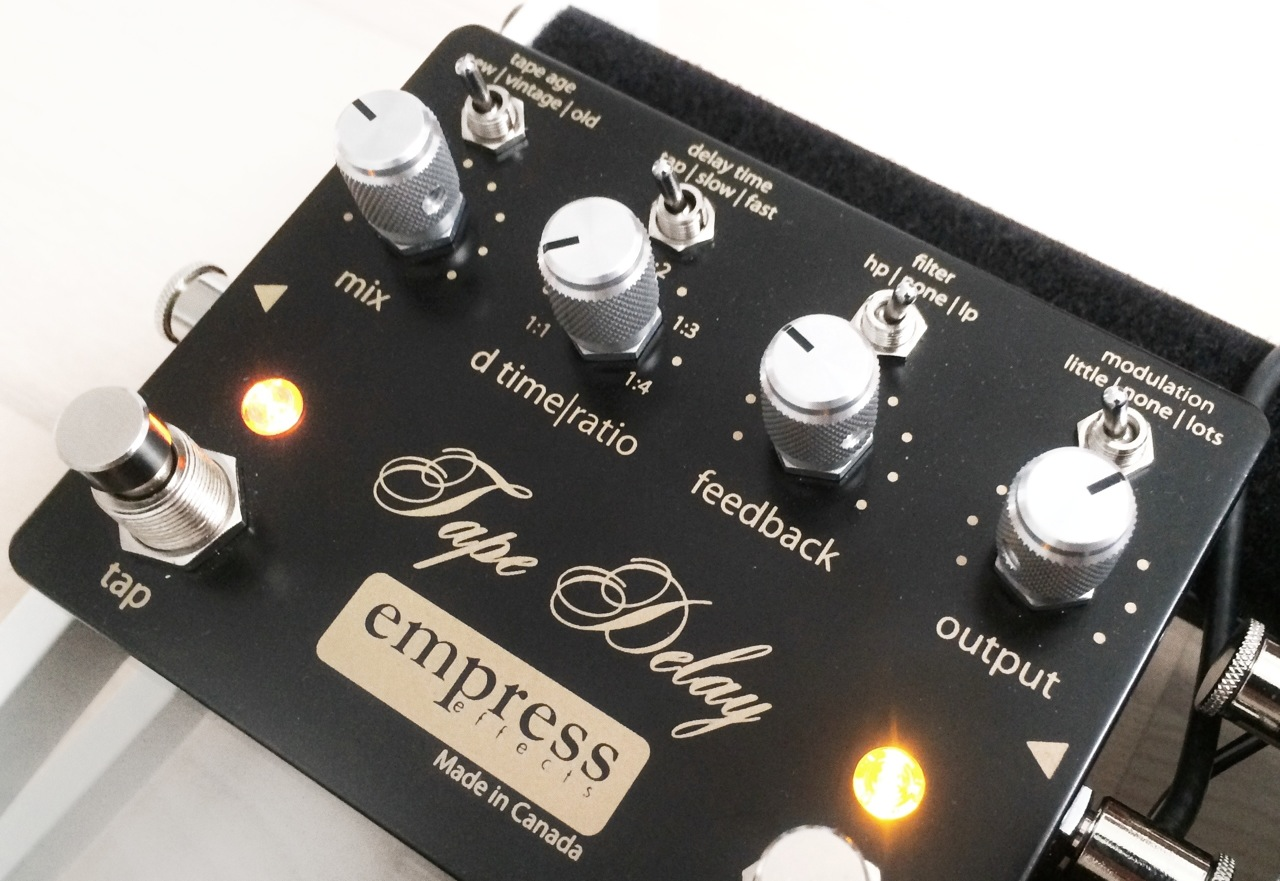 Overview of the Empress Tape Delay